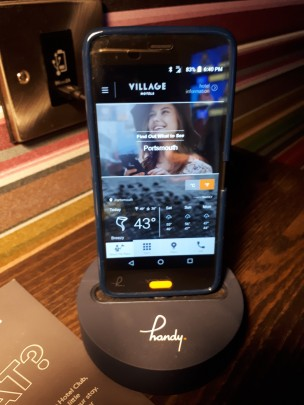 Handy Smartphone Device