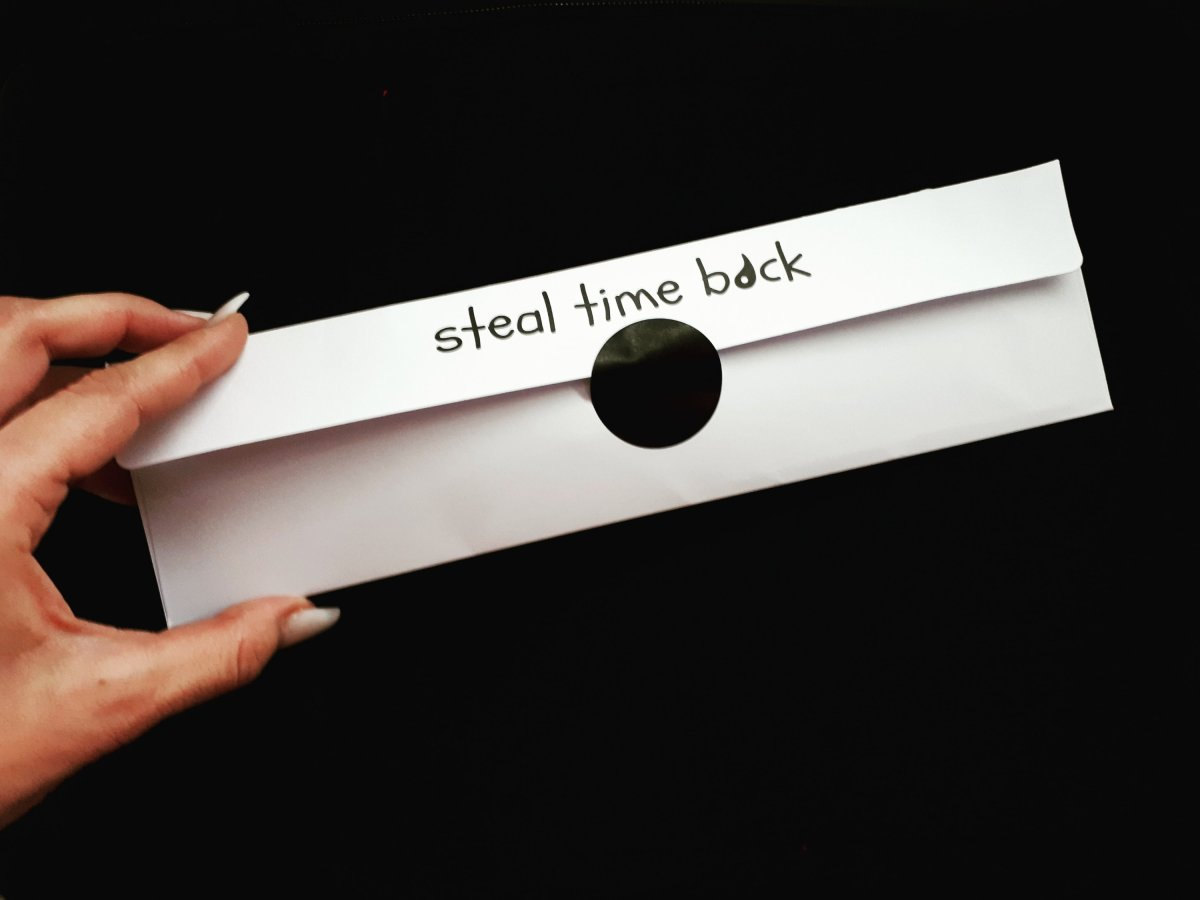 Steal Time Back Mindfulness Watch